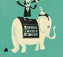 The Sandini Family Circus by Ben Sanders