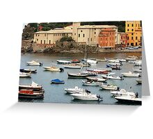 Summer in Sestri Levante Greeting Card