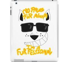 I Am A Trained Furfessional iPad Case/Skin