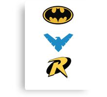 Batmen Canvas Print