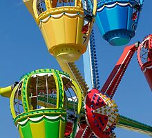 Fairground Ferris Ride by jwwallace