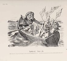 Cartoons by Sir John Tenniel selected from the pages of Punch 1901 0163 Spithead June Twenty Sixth by wetdryvac