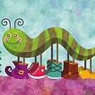 Catty Caterpillar by sandygrafik