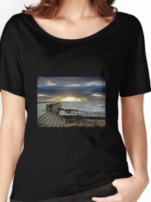 Sunset at Elwood Beach Women's Relaxed Fit T-Shirt