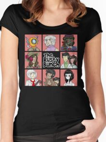 The Rusty Bunch Women's Fitted Scoop T-Shirt