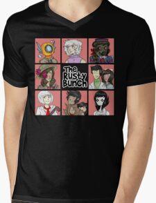 The Rusty Bunch Mens V-Neck T-Shirt