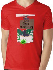 Papa Chef's Loch Ness Munchies Mens V-Neck T-Shirt