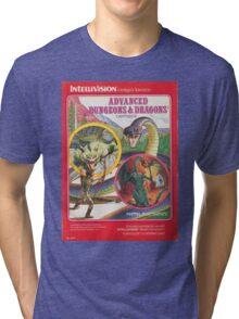 Advanced Dungeons & Dragons Cartridge Tri-blend T-Shirt