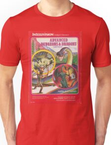Advanced Dungeons & Dragons Cartridge Unisex T-Shirt