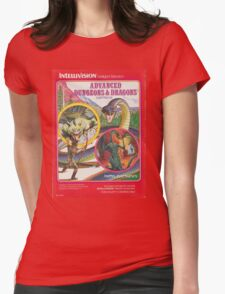 Advanced Dungeons & Dragons Cartridge Womens Fitted T-Shirt