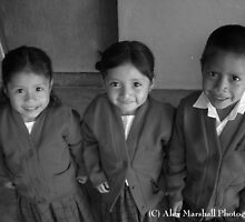 Mayan Children by Alex Marshall