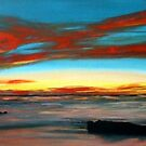 red sunset by dave reynolds