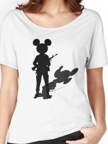 Mad Micky Women's Relaxed Fit T-Shirt