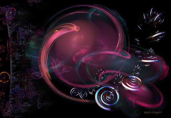Galaxy of Emptiness by Rhonda Strickland