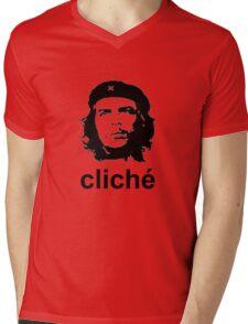 Cliche Mens V-Neck T-Shirt