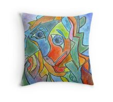 Creation of the World at the Moment of Waking Throw Pillow