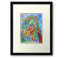 Creation of the World at the Moment of Waking Framed Print