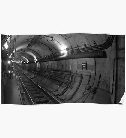 Empty Tunnel Poster