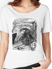 The Jabberwocky Again Women's Relaxed Fit T-Shirt