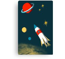 Space Adventure Canvas Print
