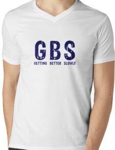 GBS Getting Better Slowly Mens V-Neck T-Shirt