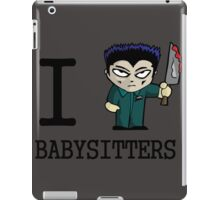 I Micheal Babysitters iPad Case/Skin