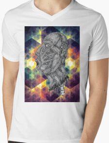 Psychedelic Euphoria Mens V-Neck T-Shirt