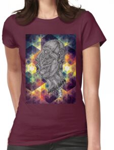 Psychedelic Euphoria Womens Fitted T-Shirt