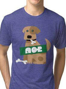 Splatoon SquidForce Splatfest Dog Tri-blend T-Shirt
