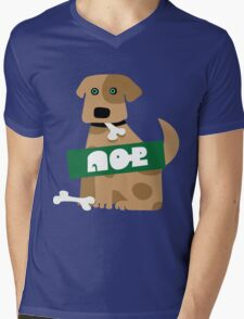 Splatoon SquidForce Splatfest Dog Mens V-Neck T-Shirt