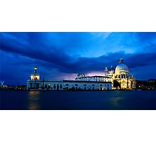 Lightning in Venice Photographic Print