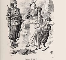 Cartoons by Sir John Tenniel selected from the pages of Punch 1901 0161 Tender Mercies by wetdryvac