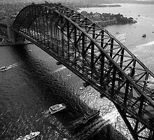 Above the Bridge by Darryl Leach