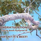Congratulations! You've been featured in Art At I'ts Best by Diko