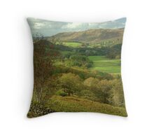 Leaving of the Shire Throw Pillow