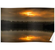 Shine On Me - Narrabeen Lakes, Sydney - The HDR Experience Poster