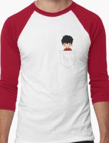 Pocket Merlin! Men's Baseball ¾ T-Shirt