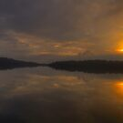 Painted Morn - Narrabeem Lakes, Sydney, The HDR Experience by Philip Johnson