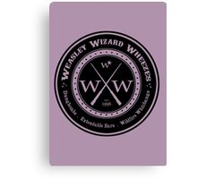 Weasley Wizard Wheezes Logo Canvas Print