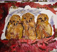 Owlets thinking not yet spotted by BasantSoni