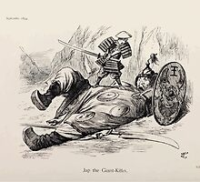 Cartoons by Sir John Tenniel selected from the pages of Punch 1901 0140 Jap the Giant Killer by wetdryvac