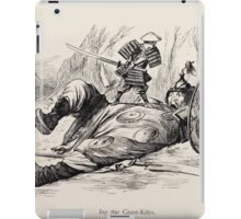 Cartoons by Sir John Tenniel selected from the pages of Punch 1901 0140 Jap the Giant Killer iPad Case/Skin