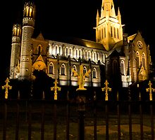 Gothic Church, Bendigo, Victoria, Aust. by steadyfromoz
