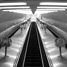 Empty Escalators by Stephen Greaves