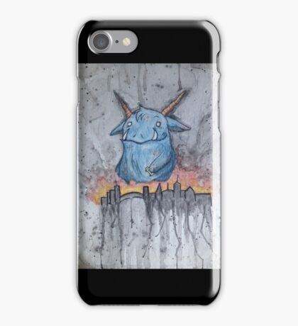 Destroy the City iPhone Case/Skin