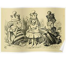 Through the Looking Glass Lewis Carroll art John Tenniel 1872 0210 Nothing Would Remain Poster