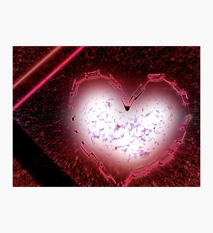 exploding love Photographic Print