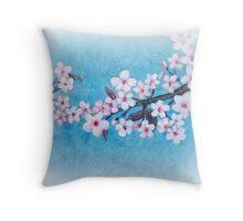 Spring - Cherryblossom - Card Throw Pillow