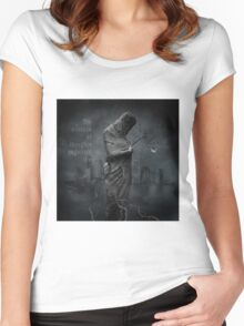 No Title 73 Women's Fitted Scoop T-Shirt