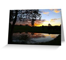 Country side stillness Greeting Card
